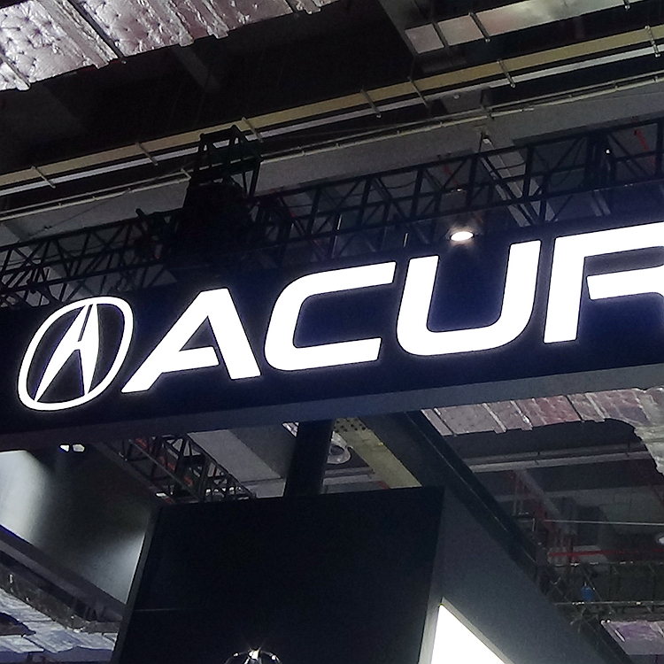 Acura Automotive Showroom Signage