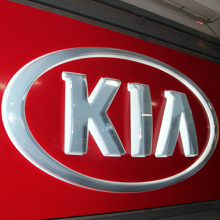 KIA Automotive Signage