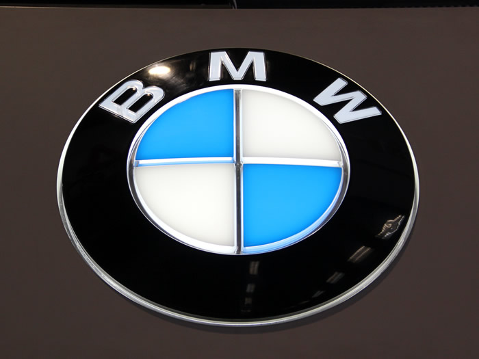 BMW Automotive Showroom Signage