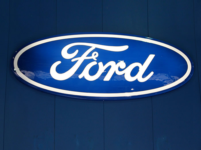 Ford Automotive Dealership Signage