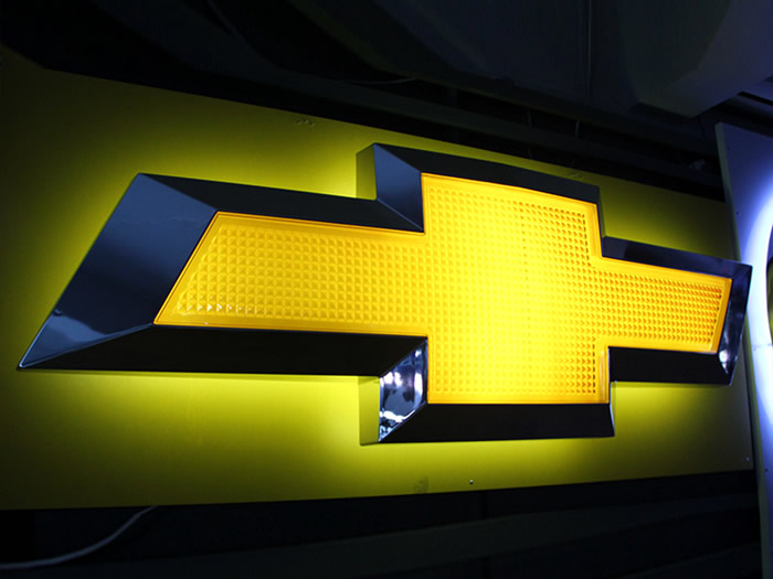 Chevrolet Automotive Dealer Signage
