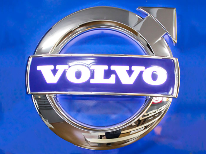 Volvo Automotive Dealership Signage