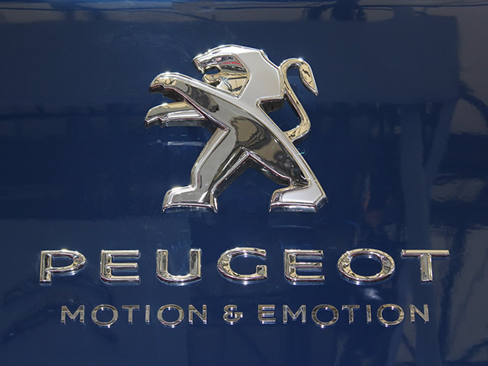 Peugeot Automotive Dealership Signage