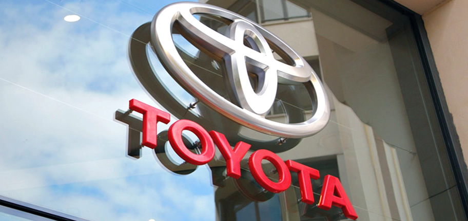 Toyota Dealership Sign