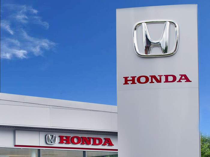 Honda Automotive Dealership Signage