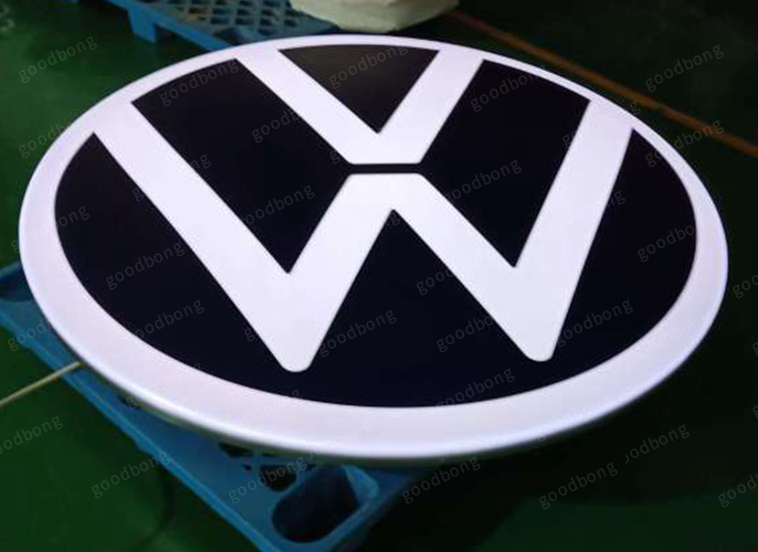 Volkswagen new sign