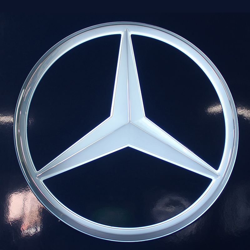 Mercedes-Benz Automotive Showroom Signage