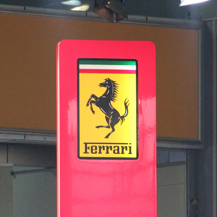 Ferrari Automotive Signage