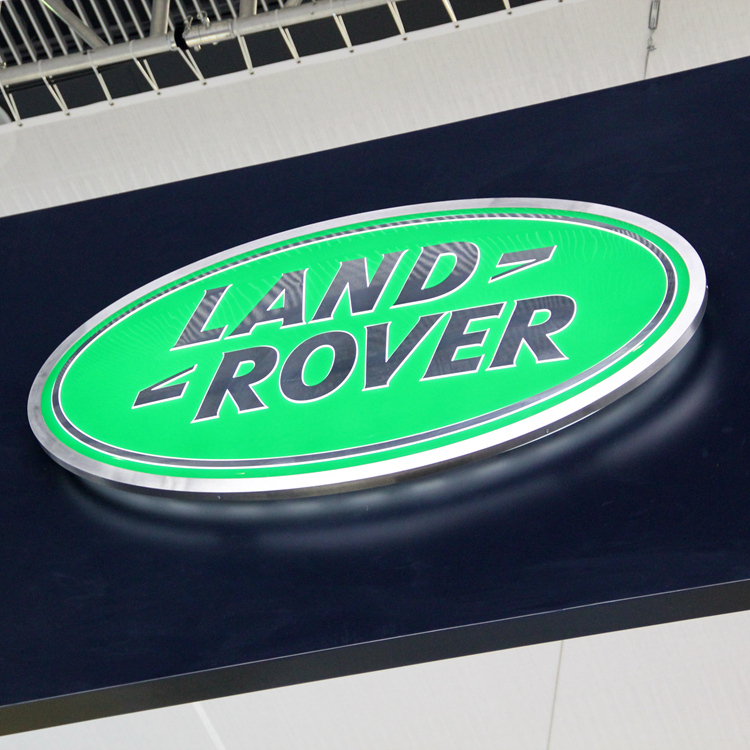 Land rover Automotive Signage