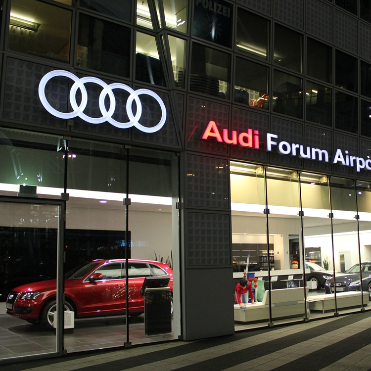 Audi Automotive Dealership Signage